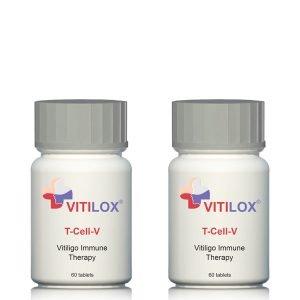 Vitiligo Vitilox® T-Cell-V Immune Therapy – 2 Pack
