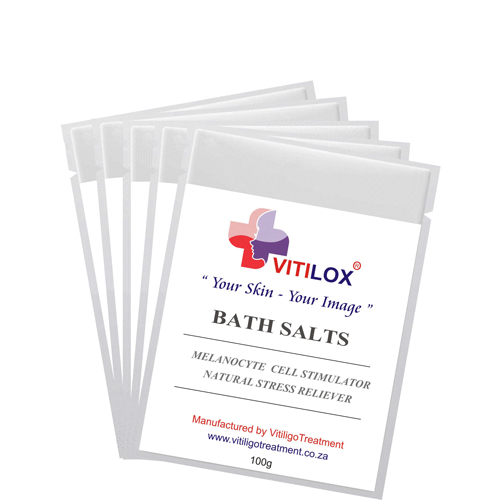 Vitiligo Bath Salts - 5 Pack - 500 gram by Vitilox®